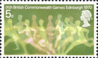 [The 9th British Commonwealth Games, Typ LC]