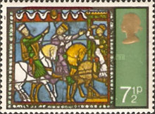 [Christmas Stamps, Typ MB]