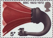 [The 50th Anniversary of the British Broadcasting Corperation, Typ MP]