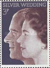 [The 25th Anniversary of the Silver Wedding of Queen Elizabeth and Prince Philip, Typ MV]