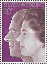 [The 25th Anniversary of the Silver Wedding of Queen Elizabeth and Prince Philip, Typ MV1]
