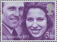 [Wedding of Princess Anne and Captain Mark Philips, Typ NS]
