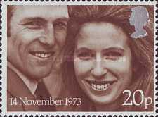 [Wedding of Princess Anne and Captain Mark Philips, Typ NS1]