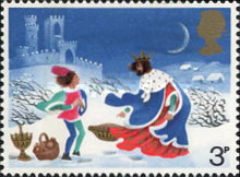 [Christmas Stamps, Typ NW]