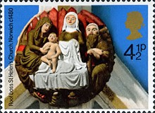[Christmas Stamps, Typ OR]