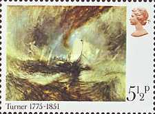 [The 200th Anniversary of the Birth of Joseph Mallord William Turner, Typ OW]
