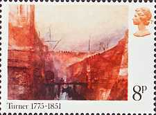 [The 200th Anniversary of the Birth of Joseph Mallord William Turner, Typ OX]