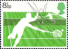 [The 100th Anniversary of the Wimbledon Tennis Championships, Typ QU]