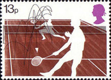 [The 100th Anniversary of the Wimbledon Tennis Championships, Typ QX]