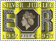 [The 25th Anniversary of the Reign of Elizabeth II, Typ RH]