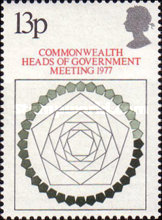 [Conference of Commonwealth Heads of Government, London, Typ RI]
