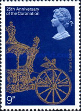 [The 25th Anniversary of the Coronation of Elizabeth II, Typ SC]