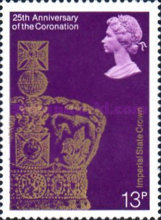 [The 25th Anniversary of the Coronation of Elizabeth II, Typ SF]
