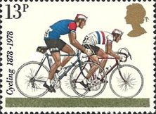 [The 100th Anniversary of the First International Cycling Organizations, Typ SN]