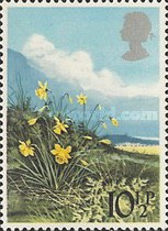 [British Wild Flowers, Typ SX]