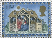 [Christmas Stamps, Typ TW]