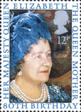 [The 80th Anniversary of the Birth of Queen Mother Elizabeth, Typ US]