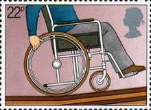 [International Year of the Disabled, Typ VM]