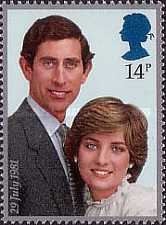 [Wedding of Prince Charles and Lady Diana Spencer, Typ VX]