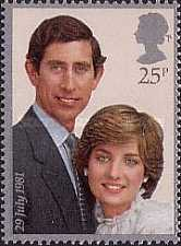 [Wedding of Prince Charles and Lady Diana Spencer, Typ VX1]