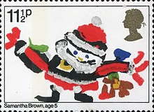 [Christmas Stamps, Typ WH]