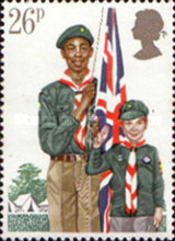 [The 75th Anniversary of Scouting, Typ WS]