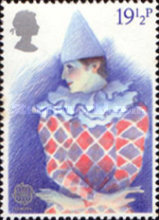 [EUROPA Stamps - Historic Events - British Theatre, Typ WV]