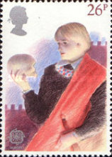 [EUROPA Stamps - Historic Events - British Theatre, Typ WW]