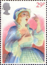[EUROPA Stamps - Historic Events - British Theatre, Typ WX]