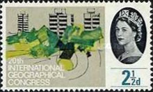 [The 20th Anniversary of the International Geographical Congress, London, Typ ZAA]
