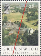 [The 100th Anniversary of the Greenwich Meridian, Typ ZN]