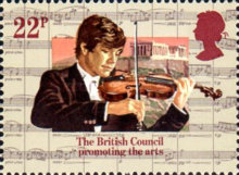 [The 50th Anniversary of the British Council, Typ ZV]