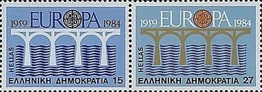 [EUROPA Stamps - Bridges - The 25th Anniversary of CEPT, type ]