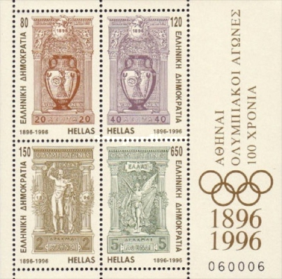 [The 100th Anniversary of Modern Olympic Games, type ]