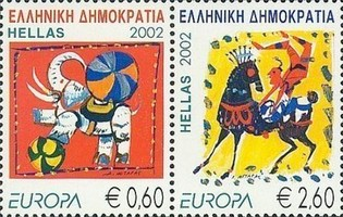 [EUROPA Stamps - The Circus, type ]