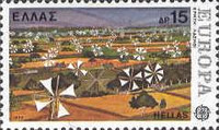 [EUROPA Stamps - Landscapes, type AEJ]