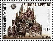[EUROPA Stamps - Modern Architecture, type ATF]