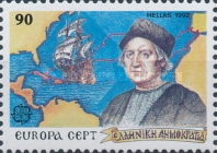 [EUROPA Stamps - The 500th Anniversary of the Discovery of America, type AZA]