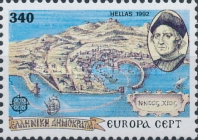 [EUROPA Stamps - The 500th Anniversary of the Discovery of America, type AZB]