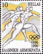 [The 100th Anniversary of Modern Olympic Games, type BDC]