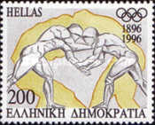 [The 100th Anniversary of Modern Olympic Games, type BDF]
