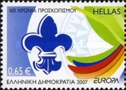 [EUROPA Stamps - The 100th Anniversary of Scouting, type BVW]