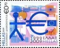 [The 10th Anniversary of the Economic and Monetary Union of Europe, type BZG]