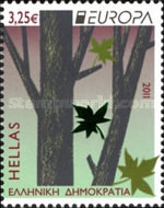 [EUROPA Stamps - The Forest, type CDG]