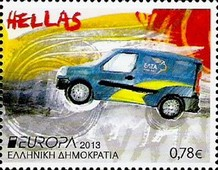 [EUROPA Stamps - Postal Vehicles, type CGG]
