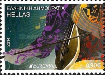 [EUROPA Stamps - Musical Instruments, type CIK]