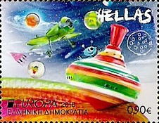 [EUROPA Stamps - Old Toys, type CKB]