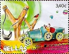 [EUROPA Stamps - Old Toys, type CKC]