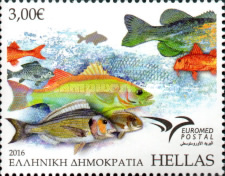 [EUROMED Issue - Fishes of the Mediterranean Sea, type CMN]