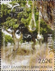 [EUROMED Issue - Trees of the Mediterranean, type COA]